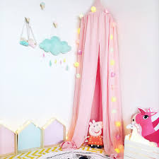 canopy bed curtains for girls online get cheap baby tent bed aliexpress com alibaba group
