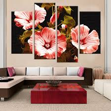 Paintings For Living Room by Online Get Cheap Painting Simple Flowers Aliexpress Com Alibaba