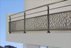 balkon lochblech aluminiumgeländer lochblech für außenbereich für balkon