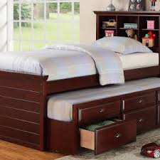 Daybed With Bookcase Headboard Baby U0026 Kids Cool Trundle Bed Ikea That Blend Perfectly With Bed