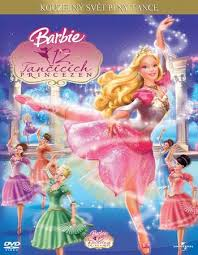 poster of barbie in the 12 dancing princesses 2006 dual audio