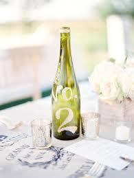 gold wine bottle table numbers wine bottle table number table numbers wedding venue decorations