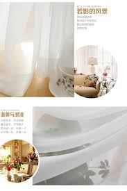 Lisette Sheer Panels by Sheer Curtains Clearance Sheer Curtain Gauze White Special Offer
