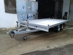 carrello porta auto usato vendesi usato carrello stradale trasporto auto in vendita brindisi