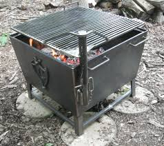 Metal Firepits Custom Metal Pit With Square Shaped And Black Ideas Outdoor