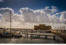 paphos castle on a stormy winter day u2013 cyprus photo shots