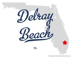map of delray map of delray fl florida