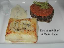 livre de cuisine norbert dos de cabillaud à l huile d olive de norbert tarayre le palais