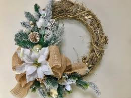 golden glam wreath 18 inch gold grapevine wreath with