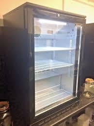 glass door fridge ebay