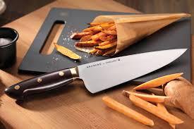 kramer by zwilling carbon steel knife block set 7 piece cutlery