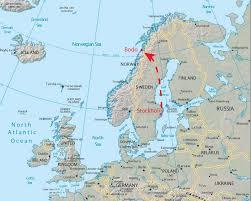 Scandinavia Map Norway Map Bodo