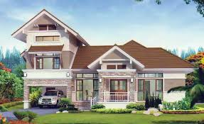 Semi Bungalow House Design