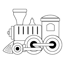 black and white train coloring pages toy train engine toy