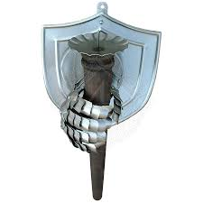 Torch Wall Sconce Wall Sconce Shield And Gauntlet Holding A Torch Outfit4events