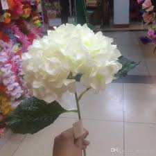 white hydrangeas shop decorative flowers wreaths online artificial milk white