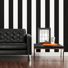 Exotic Living Room Furniture Design by Exotic Living Room Interior Design With White Black Striped Paint
