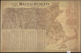 Map Of Massachusetts by Scarborough U0027s Topographic Map Of Massachusetts Digital Commonwealth