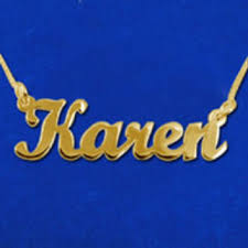Custom Made Name Necklace Best Gold Name Tag Necklaces Products On Wanelo