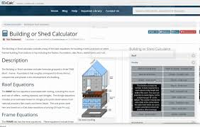 House Building Calculator Construction Calculator House Or Shed Youtube