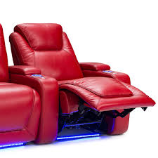 home theater loveseat recliners seatcraft equinox leather home theater seating power row of 4