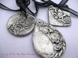 handcrafted pendants salt dough pendants and craft