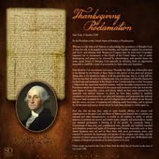 george washington s 1789 thanksgiving proclamation thanksgiving