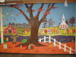 thanksgiving classroom ideas church bulletin board ideas for fall painted the tree with