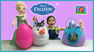 frozen halloween basket colorful big frozen surprise eggs easter basket giant frozen egg