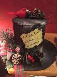 Make Your Own Christmas Centerpiece - best 25 top hat centerpieces ideas on pinterest coffee can