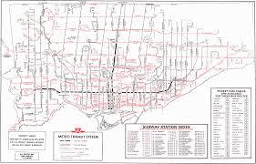 Ttc Subway Map Ttc Map Toronto Bus Image Gallery Hcpr