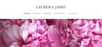 wedding site weebly wedding website exles powered by weebly