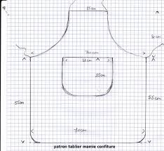 model tablier de cuisine patron d un tablier couture pour la maison apron