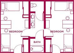 jack jill bath love this layout for a jack and jill home stuff pinterest