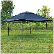 wilson and fisher canopy gazelle 6 sided portable screened gazebo