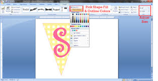 cara membuat desain x banner di photoshop how to make a bunting banner in word with clip art tips and tricks