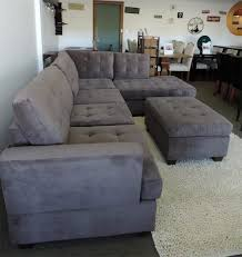 Charcoal Sectional Sofa Image Of Charcoal Gray Sectional Sofa With Chaise Lounge And