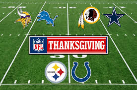 major nfl matchups set for thanksgiving day razorgator