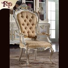 chaise de bureau baroque vente chaude 2016 mobilier européen classique royale sculpté à la