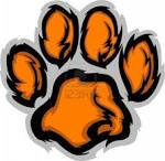 Tiger Paw Graphic Mascot Vector Image Royalty Free Cliparts ...