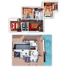 Toddler Room Floor Plan by Terrazza Redentore Suite The Gritti Palace Venice