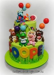baby muppets 1st birthday cake cake by custom cake designs
