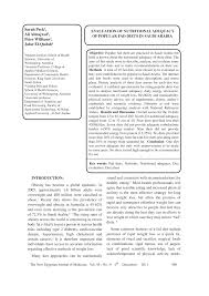 evaluation of nutritional adequacy of popular fad diets in saudi