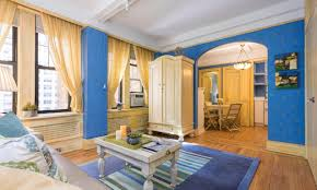 colorful interiors colorful studio right off central park west asks just 575k 6sqft
