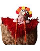 melondipity turkey thanksgiving baby hat