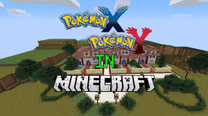 How To Use Minecraft Maps Pokemon X And Y In Minecraft Map 2 1 Scale Replica Of The Kalos