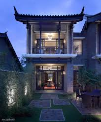 Chinese Home Asian House Design Chinese Style Two Storey With Large Backyard