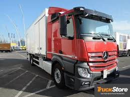 kw box truck mercedes benz actros 1830 l nr closed box trucks for sale box