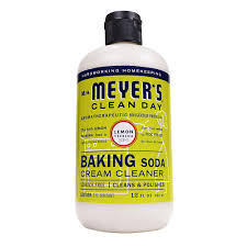 Rejuvenate Cooktop Cleaner Mrs Meyer U0027s Clean Day 12 Oz Baking Soda Cream Cleaner Lemon