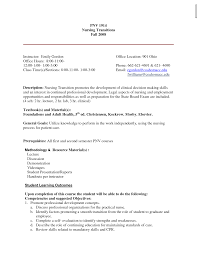 Lpn Skills Resume Sample Cv For Nursing Job